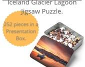 Iceland : Glacier Lagoon Magic | 252 Piece Puzzle