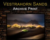 Iceland : Vestrahorn Sand - Archival Matte Print