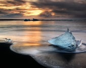 Iceland : Blue Ice Photo Print