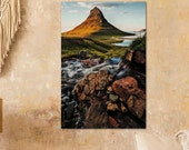 Kirkjufell Mountain Vertical - Archival Matte Print