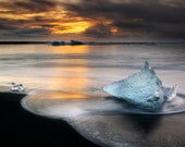 Iceland : Sting Ray on Canvas