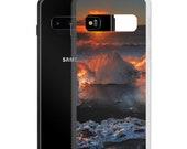 Iceland : Jokulsarlon sunrise Samsung Case