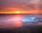Iceland : Blue Wing Premium Photo Print