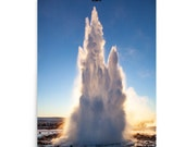 Iceland : Geyser Premium Photo Print