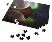 Iceland : Kirkjufell  Northern Lights  | 252 Piece Puzzle