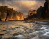 Iceland River Gorge 1 - Archival Matte Print