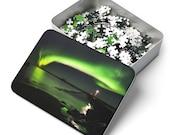 Iceland Puzzle | Aurora lighthouse | 252 Pieces