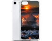 Iceland : Diamond Beach iPhone Case