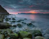 Bolungarvik Beach on Canvas : Iceland Landscape