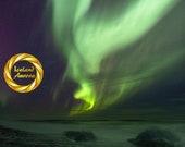 Wishbone Aurora  Iceland - Limited Edition Print : Northern lights