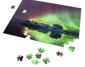 Iceland : Northern Lights 252 Piece Puzzle