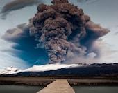 Bridge of Doom Photo premium print : Iceland volcano