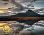 Mountain Reflection - Limited Edition Print : Hoffell Iceland