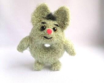 Funny donut-toy  amigurumy crocheted toy plush toy