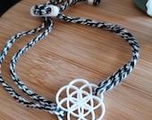 Armband Blume des Lebens, Yoga-Symbol