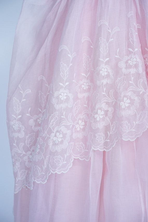 Pretty in Pink 1950s Vintage Pink Prom/ Party Dre… - image 3