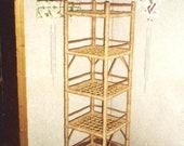 rattan shelf, shelf rattan, plant shelf, storage shelf unit, wicker bookcase, rattan shelf stand, tall wicker cabinet, wicker shelf rattan