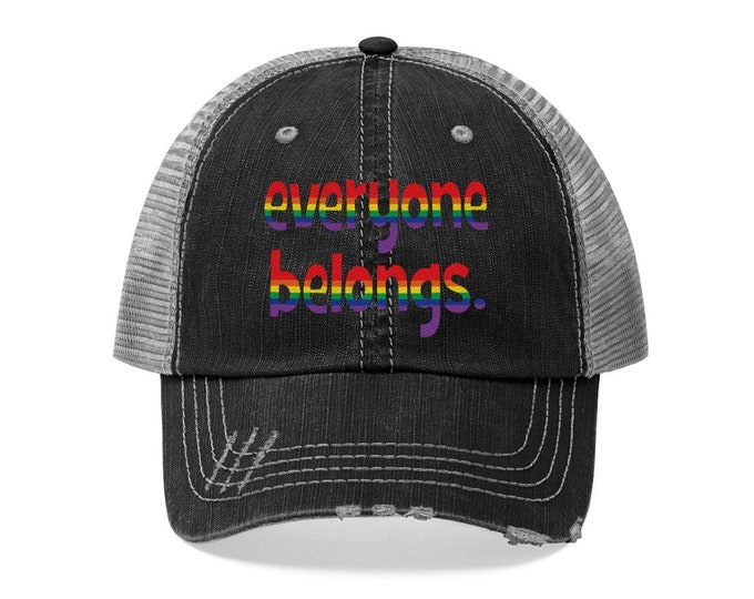 Everyone Belongs - Pride Month Trucker Hat