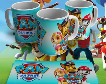 Paw Patrol Mugs - 8 Varieties Available!