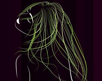 greem_hair
