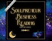 Career tarot reading for soulpreneurs