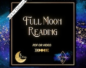 Full Moon Tarot Reading | 24hr Psychic Tarot | 30 min reading approx