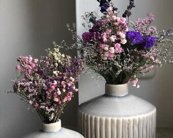 """Dried flower bouquet """"mini bouquet including vase"""", dried bouquet, dry bouquet, dried flowers, dried flowers, bouquet, gift"""