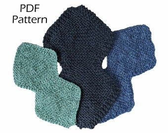 Eco Dishcloth & Scrubby Trio (Simple pattern/mini-course, great for beginners, with step by step photo instructions *printable PDF*)
