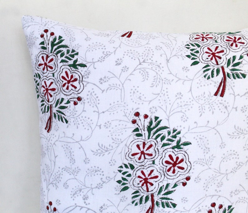 Amazing Handmade Pillow Covers  Floral Cushion Covers  image 0