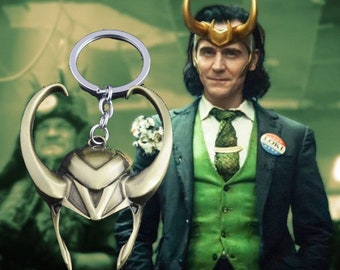 Marvel Loki keychain