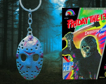 Jason Voorhees Friday the 13th NES keychain
