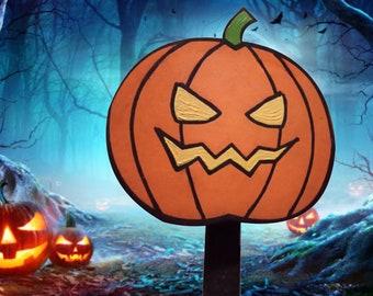 Pumpkin Halloween Yard Sign Decoration