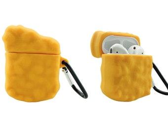 McDonald's Chicken Nugget AirPod Case 1 / 2   Cute AirPods Case   Funny AirPods Case   AirPod Case Keychain   McDonalds AirPods Case