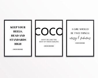 Set of 3 Designer Prints, Designer Wall Art, Designer Posters, Minimalist, Monochrome Decor, Wall Art, Designer Prints, Designer Decor