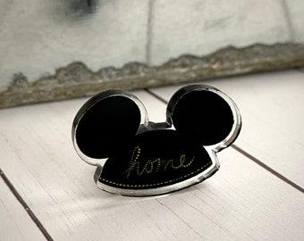 Mickey Ears Acrylic Pin