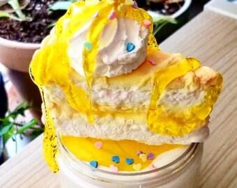 Lemon Fluff 16 oz DIY Butter Slime