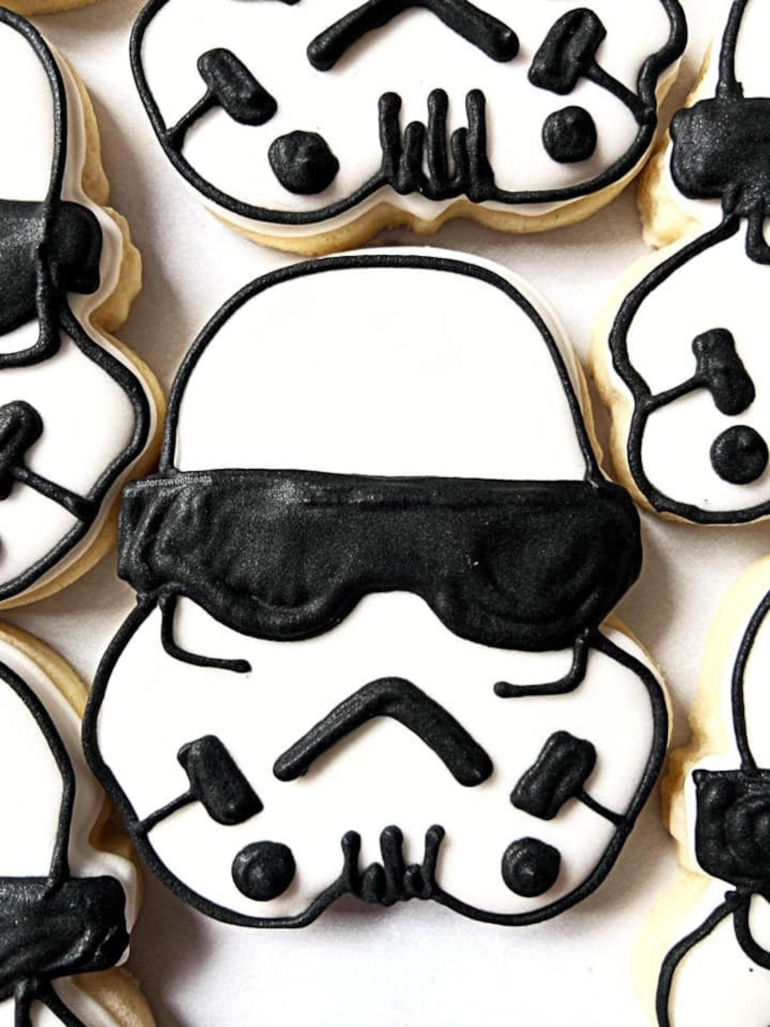 Storm Trooper Sugar Cookies