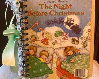 A Little Golden Book - The Night Before Christmas Journal - A Beautiful Christmas Journal