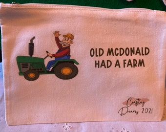 Old McDonald Had a Farm Flannel Board Story - Circle Time Just Got Better with this Hand Made Flannel Board Story Old McDonald Ei Ei Ei Oh