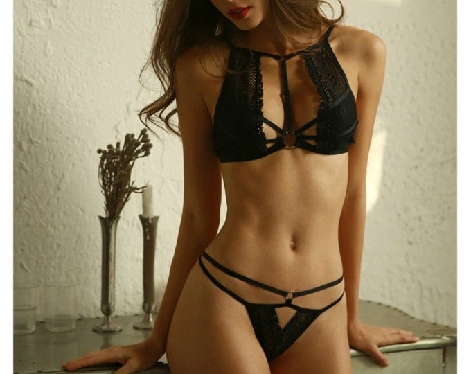 Featured listing image: Livia lace lingerie set