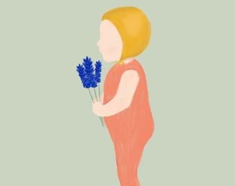 Child of Spring - Lavender - Tulip - Hortensia