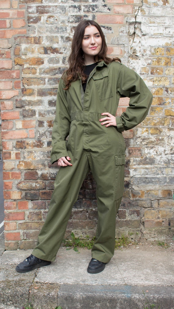 Unisex overalls/jumpsuit vintage British Army