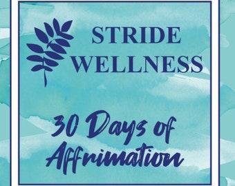 30 Days of Affirmation Cards