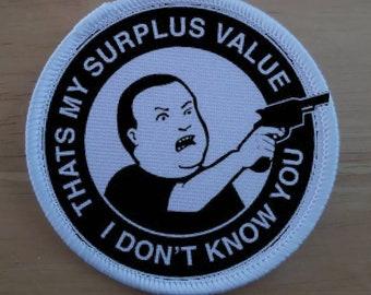 Anti Capitalism Patch Badge