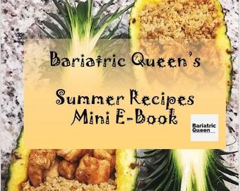 Bariatric Queen's Summer Recipes Mini E-Book