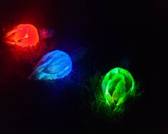 LED Rechargeable LARP Safe Flaming Torch