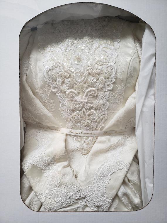 Jessica McClintock Gunne Sax Wedding Dress - image 1