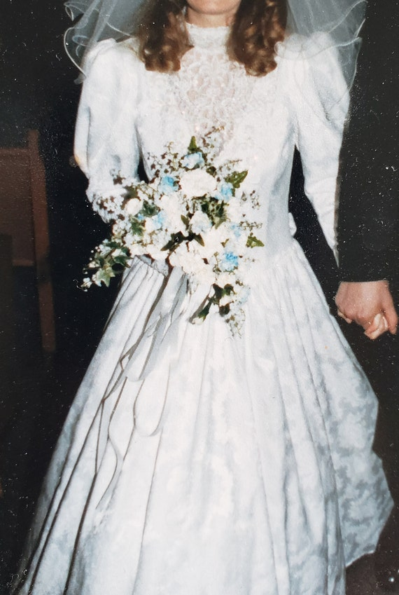 Jessica McClintock Gunne Sax Wedding Dress - image 2