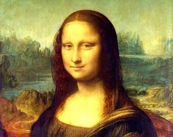 MONA LISA  -  Leonardo da Vinci (Reproduction)
