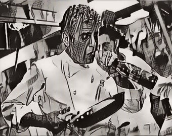 "Anthony Bourdain ""In The Kitchen"""